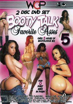 "Adult entertainment movie ""Booty Talk: Favorite Asses 5"" starring Kim Pleasures, Pursuajon & Ms. Goddess. Produced by West Coast Productions."