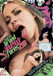 "Featured Series - Brand New Faces presents the adult entertainment movie ""Brand New Faces 20""."