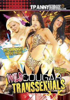 "Adult entertainment movie ""Wild Cougar Transsexuals"" starring Gisely Dom Vao, Susy Gleise & Isabelly Ferraz. Produced by Ultimate T-Girl Productions."