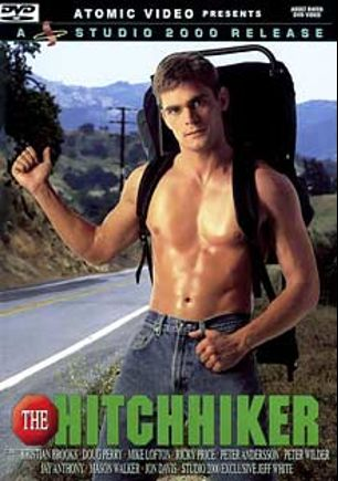 The Hitchhiker, starring Kristian Brooks, Jon Davis, Jeff White, Michael Lofton, Tony Hampton, Ricky Price, Peter Anderson, Mason Walker, Peter Wilder, Jay Anthony, Doug Perry and Paul Morgan, produced by Studio 2000 and Atomic Video.