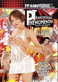 Transsexual Phenomenon, starring Gabryelly Dumont, Millena (o), Dominique Ferraz and Karen Zaneth, produced by Ultimate T-Girl Productions.