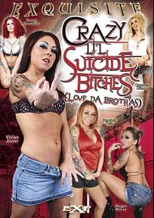 Crazy Li'l Suicide Bitches, starring Vivian Jixxer, Soma Snakeoil, Scarlett Pain, Carmen Minor and Regan Reese, produced by EXP Exquisite.