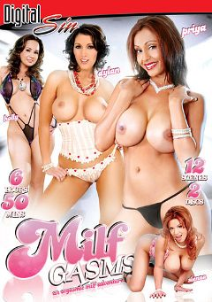 "Adult entertainment movie ""Milf Gasms"" starring Sienna West, Holly West & Priya Rai. Produced by Digital Sin."