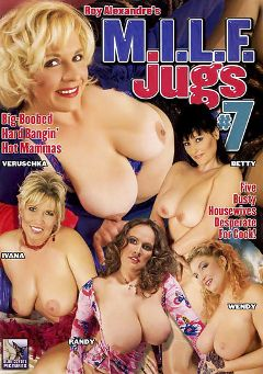 "Adult entertainment movie ""M.I.L.F. Jugs 7"" starring Veruschka, Ivana & Randy. Produced by Blue Coyote Pictures."