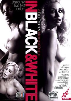 "Adult entertainment movie ""In Black And White"" starring Lisa Belize, Kelly Wells & Monique Alexander. Produced by Vivid Entertainment."