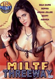 "Just Added presents the adult entertainment movie ""MILTF Threeway""."