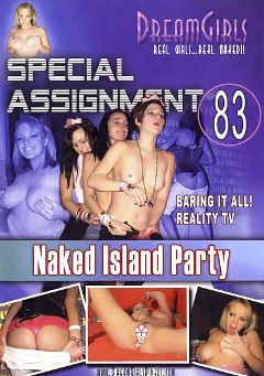 "Adult entertainment movie ""Special Assignment 83: Naked Island Party"". Produced by Dream Girls."
