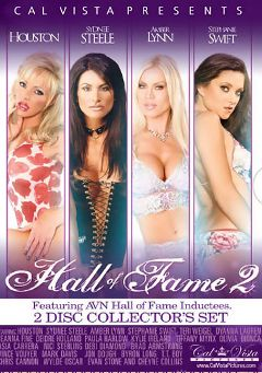 "Adult entertainment movie ""Hall Of Fame 2"" starring Sydnee Steele, Houston & Amber Lynn. Produced by Metro Media Entertainment."
