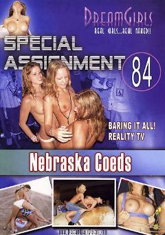 "Adult entertainment movie ""Special Assignment 84: Nebraska Coeds"". Produced by Dream Girls."