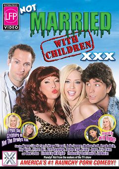"Adult entertainment movie ""Not Married With Children XXX"" starring Kagney Linn Karter, Allyssa Hall & Emy Reyes. Produced by Hustler."