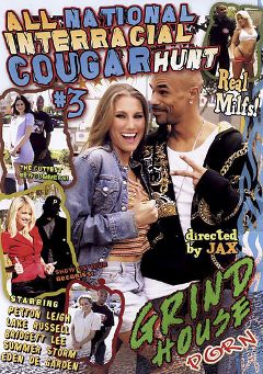 "Adult entertainment movie ""All National Interracial Cougar Hunt 3"" starring Bridgett Lee, Eden De Garden & Lake Russell. Produced by Acid Rain."