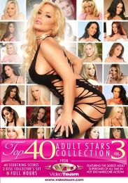"Featured Star - Gianna Michaels presents the adult entertainment movie ""Top 40 Adult Stars Collection 3 Part 2""."