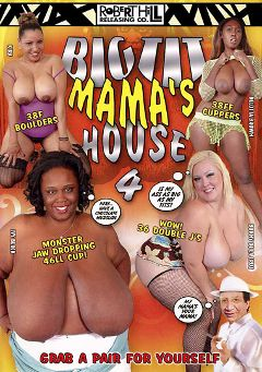 "Adult entertainment movie ""Big Tit Mama's House 4"" starring Ivy Black, Bunny De La Cruz & Delotta Brown. Produced by Robert Hill Releasing Co.."