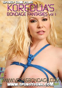 "Adult entertainment movie ""Kordelia Devonshire's Bondage Fantasies"" starring Kordelia Devonshire. Produced by Spungy Gunk Films."