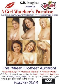 "Adult entertainment movie ""A Girl Watcher's Paradise 2068"" starring Savvy, Mikayla & Tatiana Kush. Produced by G.D. Douglass."