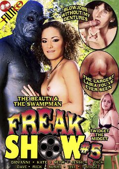 "Adult entertainment movie ""Freak Show 5"" starring Sushi, Kate & Jessica Jones. Produced by Filmco."