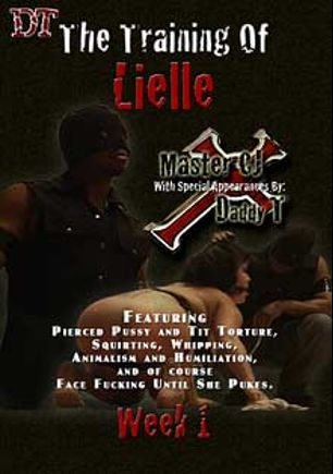 The Training Of Lielle Week 1, starring Lielle and Master CJ, produced by Daddy T's Dungeon.