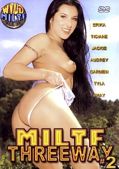 "Adult entertainment movie ""MILTF Threeway 2"" starring Kimberly Khan, Ticiane & Slut Deb. Produced by Wild MILTF Productions."