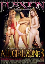 """Featured Studio - Fuzxion presents the adult entertainment movie """"All Girl Zone 3""""."""