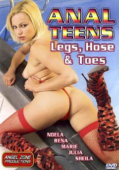 "Adult entertainment movie ""Anal Teens, Legs, Hose And Toes"" starring Noela Noel, Eric Babu & Jota. Produced by Angel Zone Productions."