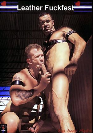 Gay Adult Movie Leather Fuckfest Part 2