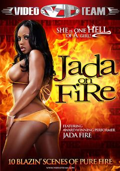 "Adult entertainment movie ""Jada On Fire"" starring Jada Fire, Nat Turner & Tee Reel. Produced by Video Team."