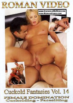 "Adult entertainment movie ""Cuckold Fantasies 14"" starring Flower Tucci, Slave Vladi & T.J. Cummings. Produced by Roman Video."