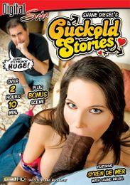 "Featured Star - Sarah Vandella presents the adult entertainment movie ""Cuckold Stories""."