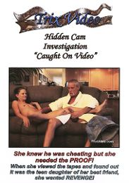 """Just Added presents the adult entertainment movie """"Hidden Cam Investigation: Caught On Video""""."""