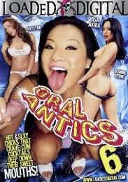 "Featured Star - Asa Akira presents the adult entertainment movie ""Oral Antics 6""."