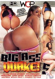"Just Added presents the adult entertainment movie ""Big Ass Quake 5""."