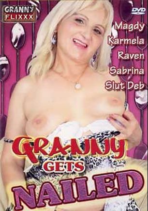 Granny Gets Nailed, starring Magdy, James Josh, Zoe Maria, Slut Deb, Karmela, Vincent, Tyler, Justin *, D. Wise and Raven, produced by Granny Flixxx.