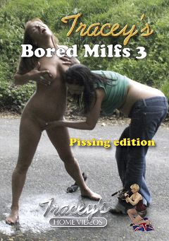 "Adult entertainment movie ""Tracey's Bored Milfs 3"" starring Tracey. Produced by Tracey's Home Videos."