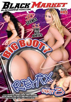 "Adult entertainment movie ""Big Booty Remix 3"" starring Chantell Merino, Nicole Banks & Emma Cummings. Produced by Black Market Entertainment."