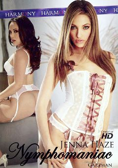 "Adult entertainment movie ""Jenna Haze: Nymphomaniac"" starring Jenna Haze, Tori Black & Kristina Rose. Produced by Harmony Films Ltd.."