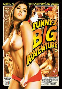 "Adult entertainment movie ""Sunny's Big Adventure"" starring Sunny Leone, Devi Emmerson & Matt Erickson. Produced by Vivid Entertainment."