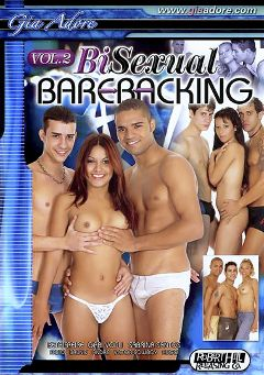 "Adult entertainment movie ""Bisexual Barebacking 2"" starring Hugo, Victor Cowboy & Bruno. Produced by Robert Hill Releasing Co.."