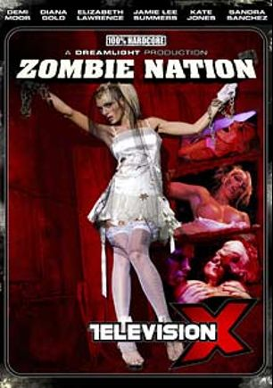 Zombie Nation, starring Jamie Lee Summers, Demi Moor, Sandra Sanchez, Kate Jones, Diana Gold and Elizabeth Michelle Lawrence, produced by Television X.