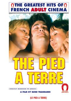 "Adult entertainment movie ""The Pied A Terre -French"" starring Marianne Aubert, Richard Allan & Laura May. Produced by ALPHA-FRANCE."