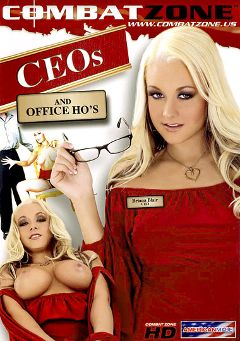 "Adult entertainment movie ""CEO's And Office Ho's"" starring Briana Blair, Allie Haze & Sammie Spades. Produced by Combat Zone."