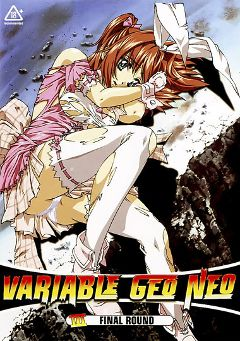 "Adult entertainment movie ""Variable Geo Neo 3"" starring Anime (f) & Anime (m). Produced by Critical Mass."