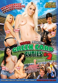 "Adult entertainment movie ""Green Card Cuties 2"" starring Sanya Pride, Nesty & Larissa Dee. Produced by Immoral Productions."