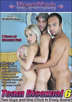 "Adult entertainment movie ""Team Bisexual 6"" starring Junior Bastos, Matheus Axell & Edward Lugo. Produced by Magnus Muscle."
