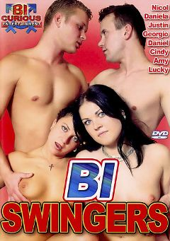 "Adult entertainment movie ""Bi Swingers"" starring Justin *, Daniel * & Georgio *. Produced by Bi Curious Entertainment."