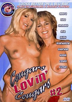 "Adult entertainment movie ""Cougars Lovin' Cougars 2"" starring Allura, Nina & Countess Erotica. Produced by Totally Tasteless Video."