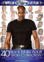 "Just Added presents the adult entertainment movie ""Top 40 Black Male Adult Stars Collection""."