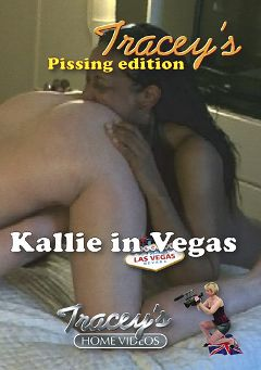 "Adult entertainment movie ""Kallie In Vegas"" starring Kallie. Produced by Tracey's Home Videos."