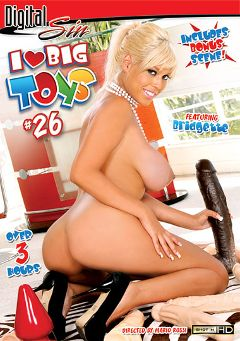 "Adult entertainment movie ""I Love Big Toys 26"" starring Bridgette B., Sea J. Raw & Isis Monroe. Produced by Digital Sin."