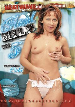 "Adult entertainment movie ""Anal MILF 5"" starring Cabi, Sandor & Lazlo. Produced by Heatwave Entertainment."