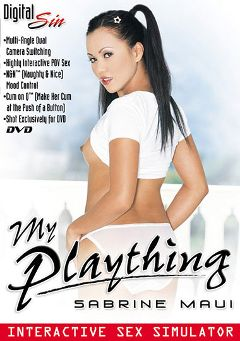 "Adult entertainment movie ""My Plaything: Sabrine Maui"" starring Sabrine Maui & Mark Ashley. Produced by Digital Sin."